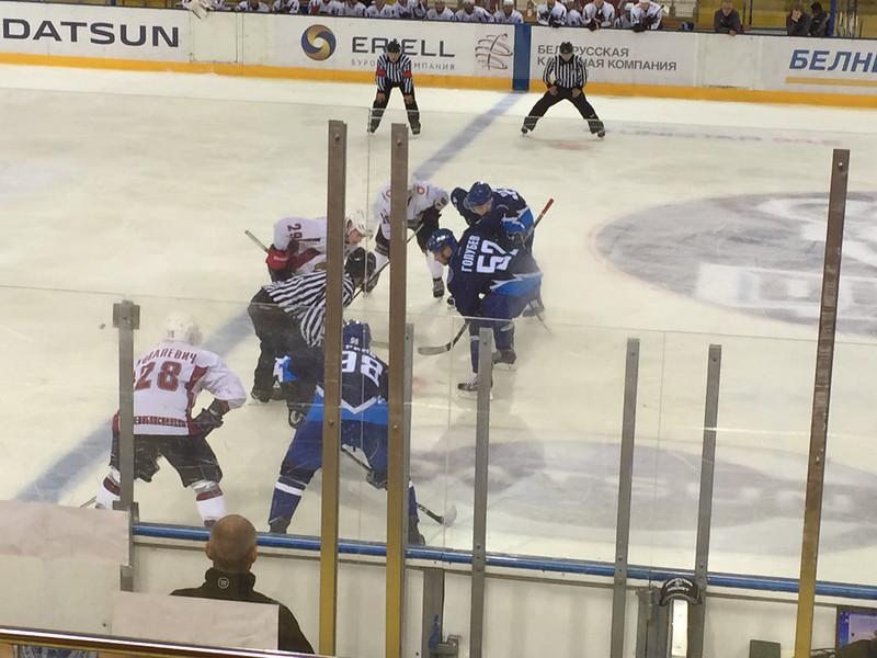 ice hockey sporting event