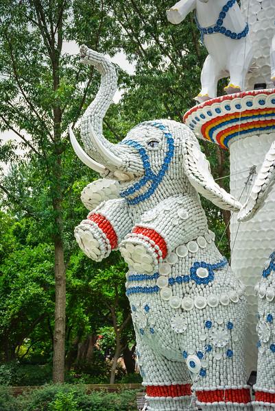 elephant chinese lantern festival