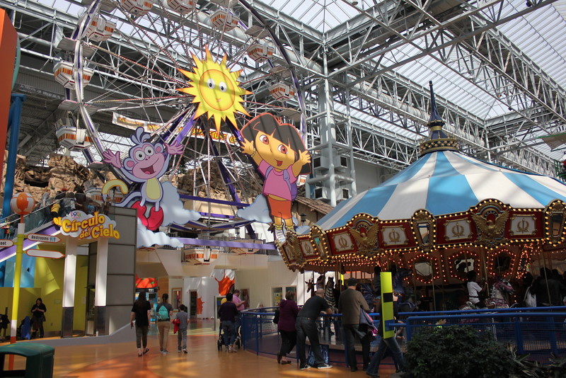 mall of america nickelodeon universe