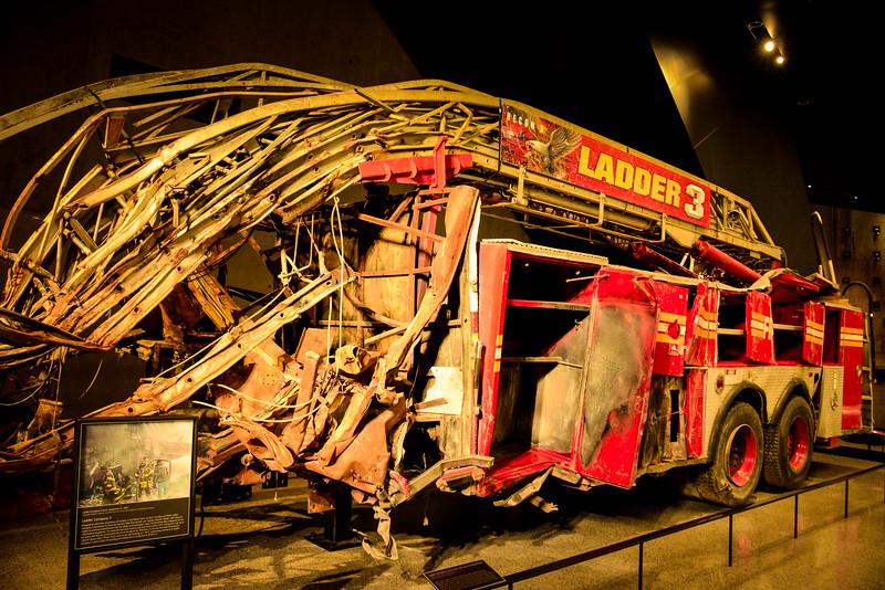 ground zero fire truck