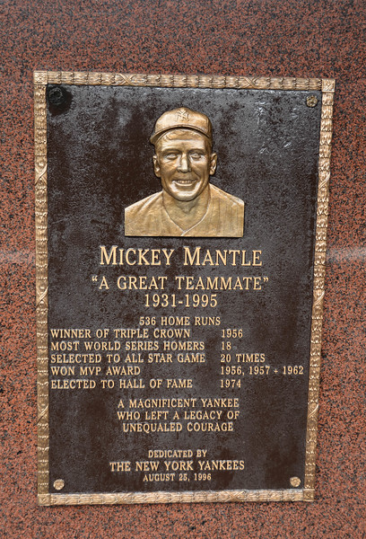 mickey mantle memorial