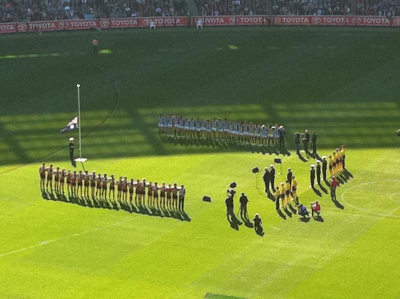 anzac australian rules football