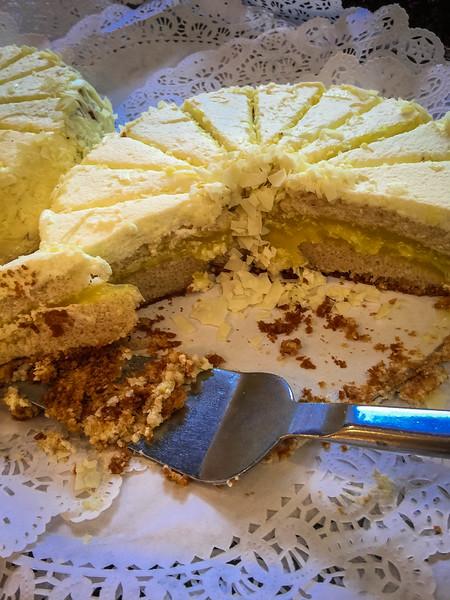 court of two sisters lemon cake