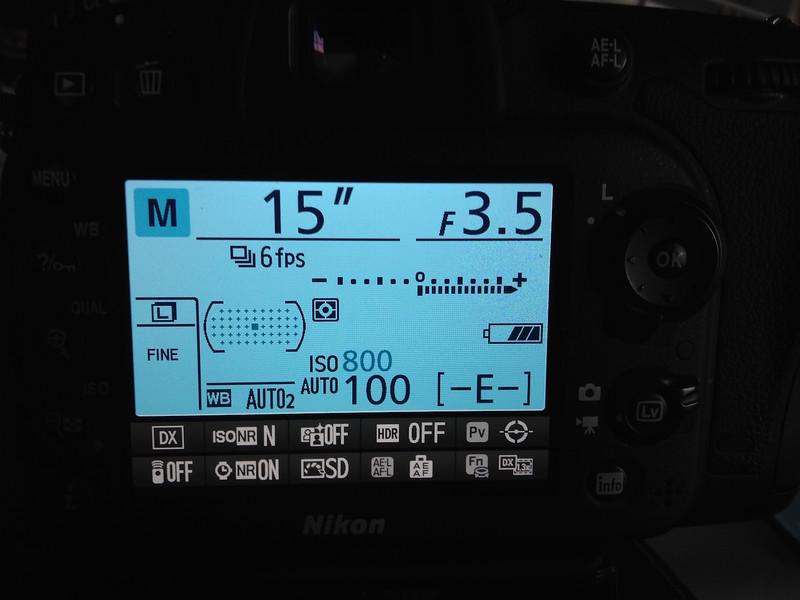 Northern Lights Nikon D7100 Settings